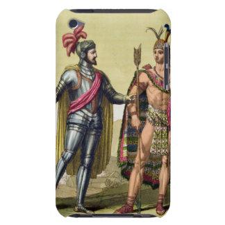 The Encounter between Hernando Cortes (1485-1547) iPod Touch Case
