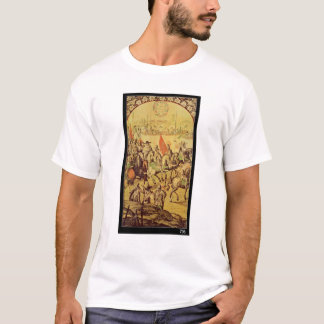 The encounter between Hernando Cortes T-Shirt