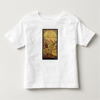 The encounter between Hernando Cortes Toddler T-shirt