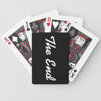 """""""The End"""" Bicycle Playing Cards"""