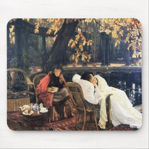 The end by James Tissot Mouse Pad