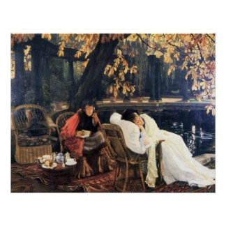 The end by James Tissot Poster