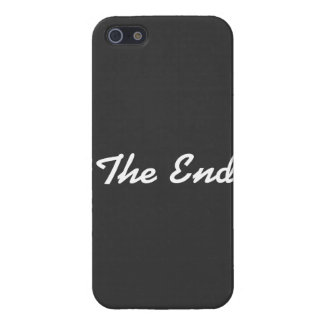 """The End"" Cover For iPhone SE/5/5s"