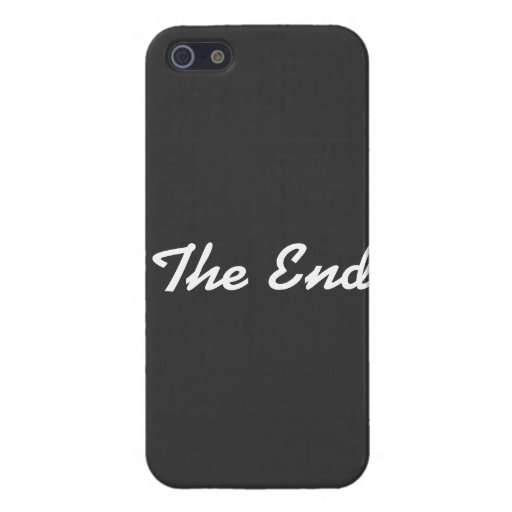 """""""The End"""" iPhone 5/5S Case"""