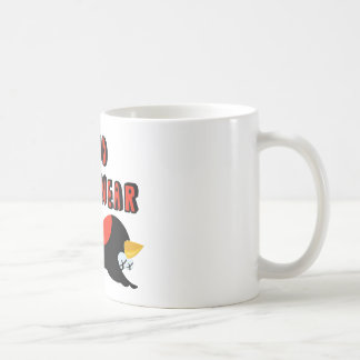 The End Is Near Falling Bird Coffee Mug