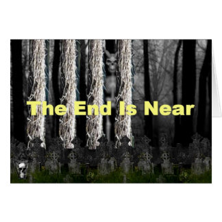 The End is Near: Sleepy Hollow Greeting Cards