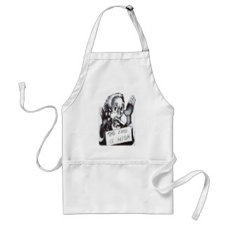 The End is Nigh Adult Apron