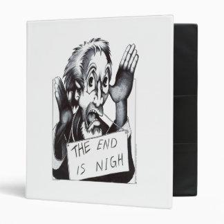 The End is Nigh Vinyl Binder