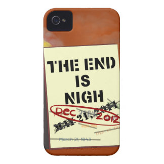 The End is Nigh Blackberry Bold Case