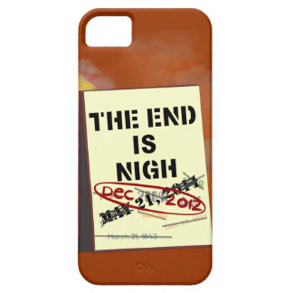 The End is Nigh, iPhone 5 Barely There Case