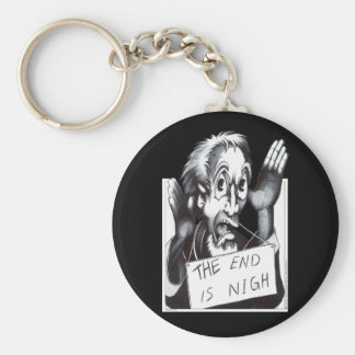 The End is Nigh Keychain