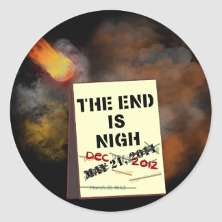 The End is Nigh Sticker