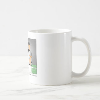 The End Justifies the Means Cartoon Mug