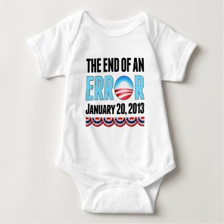 The End of An Error January 20, 2013 Obama Baby Bodysuit