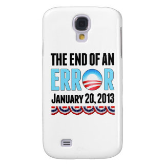 The End of An Error January 20, 2013 Obama Samsung Galaxy S4 Cases