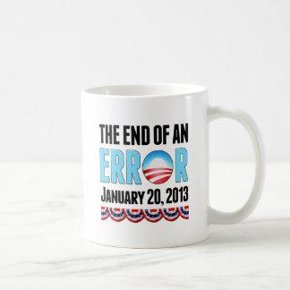 The End of An Error January 20, 2013 Obama Coffee Mug
