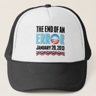 The End of An Error January 20, 2013 Obama Trucker Hat