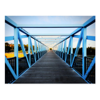 The End Of Bridge Postcard