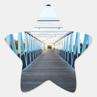The End Of Bridge Star Sticker