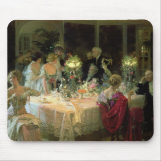 The End of Dinner, 1913 Mouse Pad