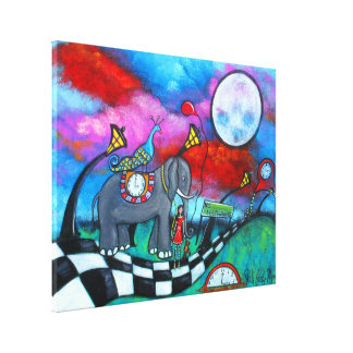 The End Of Innocence Fantasy Art on Canvas