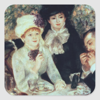 The End of Luncheon, 1879 Square Stickers