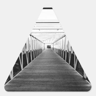The End Of The Bridge Sticker
