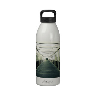 The End Of The Bridge Water Bottle