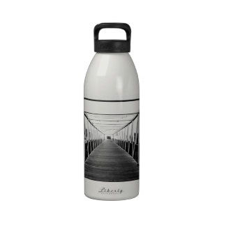 The End Of The Bridge Drinking Bottle