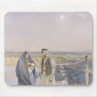 The End of the Day, 1888 Mousepad
