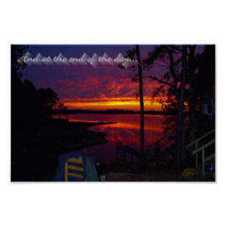 The End Of The Day Poster