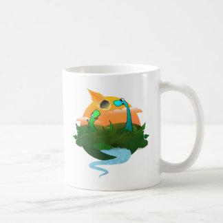 The end of the dinosaurs coffee mug