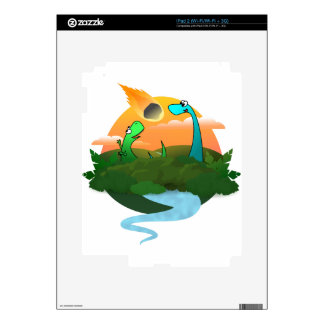 The end of the dinosaurs skin for iPad 2