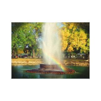 The End Of The Rainbow Canvas Print