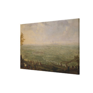 The End of the Siege of Olomouc Canvas Print