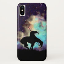 The End of the Trail Silhouette IPhone case