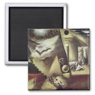 The End of the World, c.1929 2 Inch Square Magnet