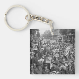 The End of WW2 Keychain
