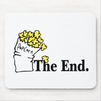 The End (Popcorn) Mouse Pad