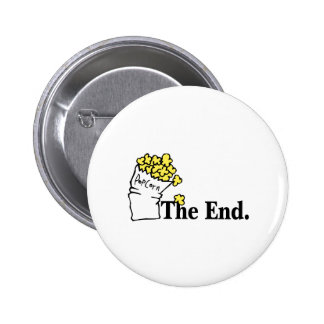 The End (Popcorn) Pinback Button