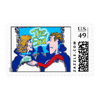 """""""The End"""" Postage Stamp"""