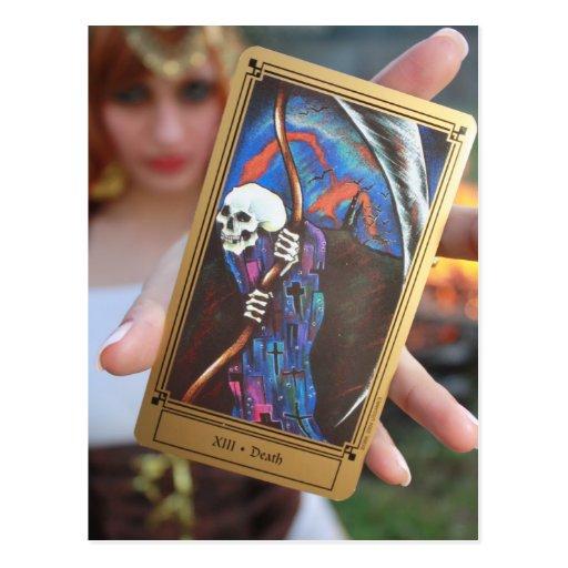 The End Tarot Postcard