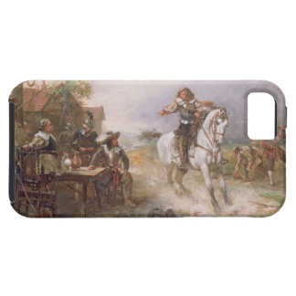 The Enemy Approaches (oil on canvas) iPhone SE/5/5s Case