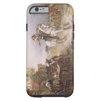 The Enemy Approaches (oil on canvas) Tough iPhone 6 Case