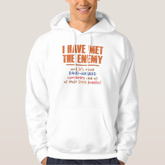 The Enemy Basic Hooded Sweatshirt