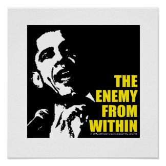 """""""The Enemy From Within"""" Posters"""