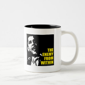 The Enemy From Within Two-Tone Coffee Mug