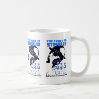 The Enemy Is Syphilis Coffee Mug