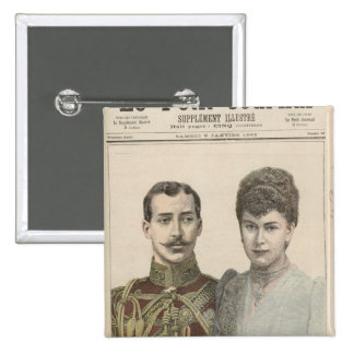 The Engagement of Albert Victor  Duke of Button