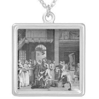 The Engagement Silver Plated Necklace